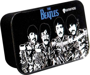 Planet Waves Beatles Sgt. Peppers Pick Tin