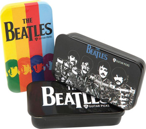Planet Waves Beatles Collectible Pick Tin