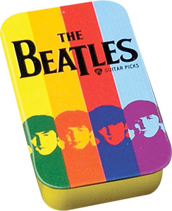 Planet Waves Beatles Stripes Pick Tin