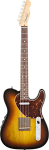 Acoustasonic Telecaster Acoustic Electric Guitar - 3 Tone Sunburst