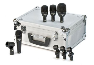 Audix FP4 4-Piece Fusion Drum Microphone Package [fp4]