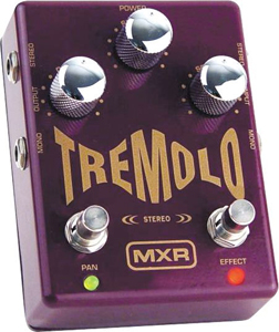 MXR Stereo Tremolo Guitar Effects Pedal M159  [M159]