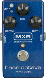 MXR Bass Octave Deluxe Effects Pedal M288
