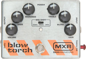MXR Bass Blowtorch Overdrive Distortion Pedal M181  [M181]
