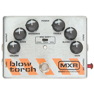 MXR Bass Blowtorch Overdrive Distortion Pedal M181