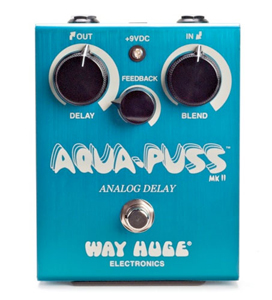 Way Huge WHE701 Aqua-Puss MkII Analog Delay Guitar Effects Pedal [whe701]