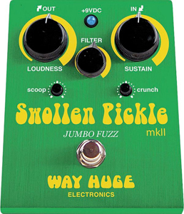 Way Huge WHE401 Swollen Pickle mkII Jumbo Fuzz Guitar Effects Pedal  [whe401]