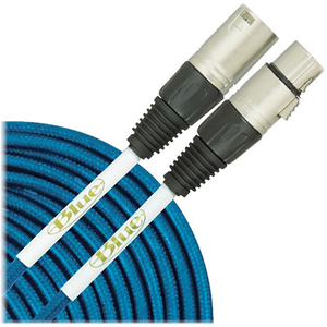 Blue Dual Microphone Cable [DUAL CBL]