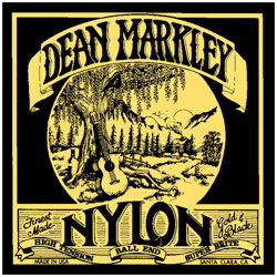 Dean Markley 2802 Ball End High Tension Nylon Guitar Strings [2802]