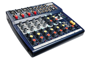 Soundcraft Notepad 124 FX [RW5795US]
