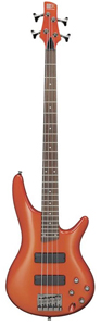 SR300 Bass Guitar Orange Metallic