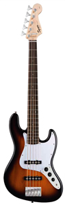 Affinity Jazz Bass V - Brown Sunburst