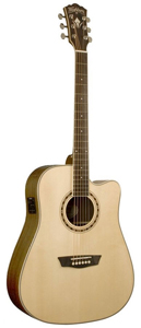 Washburn WD20SCE Dreadnought Acoustic-Electric Guitar [wd20sce]