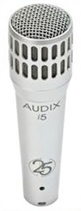 i5 Dynamic Instrument Cardioid Microphone - Silver