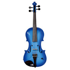 Barcus Berry Vibrato Acoustic Electric Violin - Blue