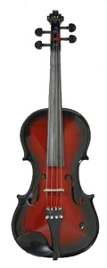 Barcus Berry Vibrato Acoustic Electric Violin - Red Berry