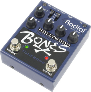 Radial Hollywood Bones - Distortion Guitar Effects Pedal  [r800-7100]