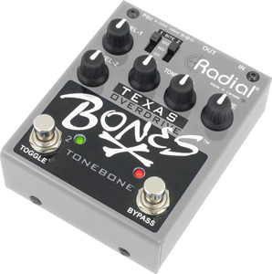 Radial Texas Bones - Overdrive Guitar Effects Pedal  [r800-7110]