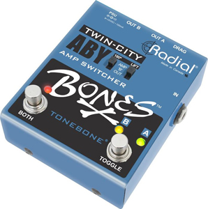 Radial Twin City Bones - A-B-Y Footswitch [r800-7115]