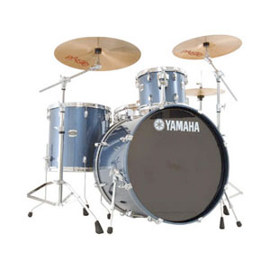 Yamaha SCB4F47 4-Piece Stage Custom Birch - Dark Blue Metallic [SCB4F47DBM]