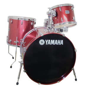 Yamaha SCB4F47 4-Piece Stage Custom Birch - Raspberry Metallic [SCB4F47RBM]