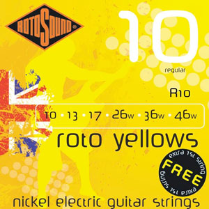 Rotosound Roto Yellows R10 [r10]