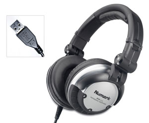 Numark PHX USB - USB & Analog DJ Headphones [phx usb]