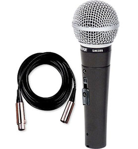 Shure SM58S with Cable [SM58SCN]