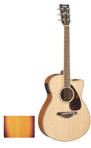 Yamaha FSX720SC - Brown Sunburst [FSX720SC BS]