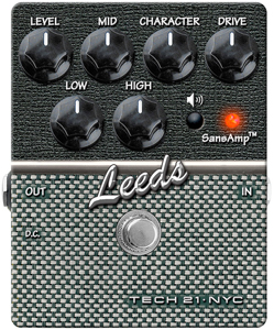 Tech21 Leeds - Overdrive Guitar Effects Pedal