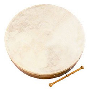 Waltons 18-inch Bodhran Package - Classic Brown