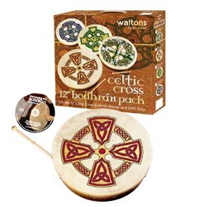 Waltons 18-inch Bodhran Package - Kilkenny