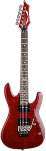 Dean Custom 350 Floyd - Transparent Red [c350f trd]