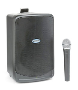 Samson XP40iW Portable PA System with Wireless Mic CH11