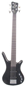 Warwick Corvette Basic 5-String Black Bass [RBG901828-09]