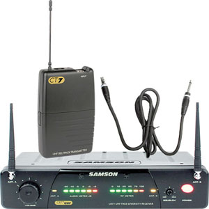 Samson Concert 77 Wireless Guitar System [SW77VSGT]