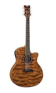 Exotica Bubinga Acoustic Electric Guitar