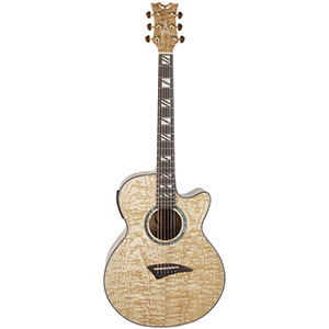 Dean Performer Acoustic Electric Guitar Quilt Ash Gloss Natural [pe qa gn]