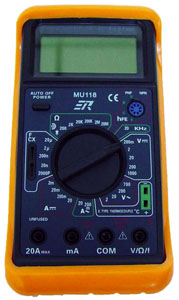 Rolls MU118 Digital Multimeter [mu118]