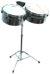 Groove Percussion LT156 Latin Timbales