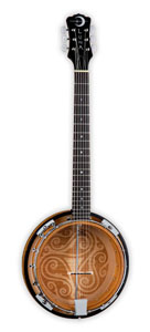 Luna Guitars 6-String Celtic Banjo [bgb cel 6]