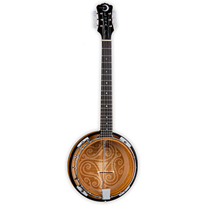Luna Guitars 6-String Celtic Banjo