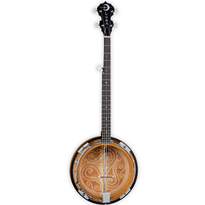 Luna Guitars 5-String Celtic Banjo