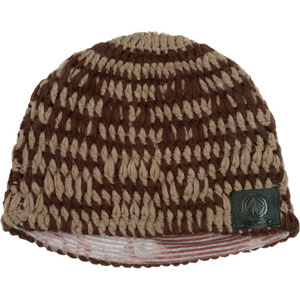 AERIAL7 Sound Disk Beanie - Knit Brown Green Fitted [50790]