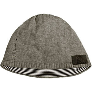 Sound Disk Beanie - Knit Grey Fitted