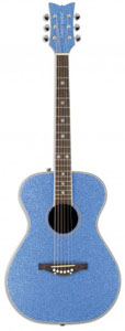 Daisy Rock Pixie Acoustic - Blue Sparkle [14-6207]