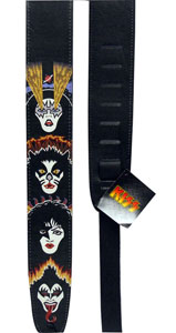 Planet Waves Kiss Strap Collection - Rock and Roll Over [25LK04]