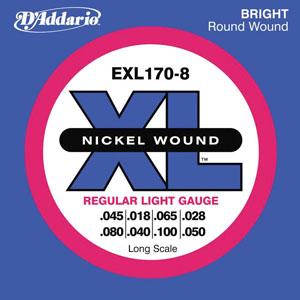 Daddario EXL170-8 XL [exl170-8]
