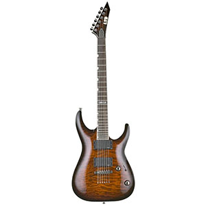 LTD LMH-250NT Dark Brown Sunburst