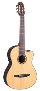Yamaha NCX900R Nylon String Acoustic-Electric Classical Cutaway [ncx900r]